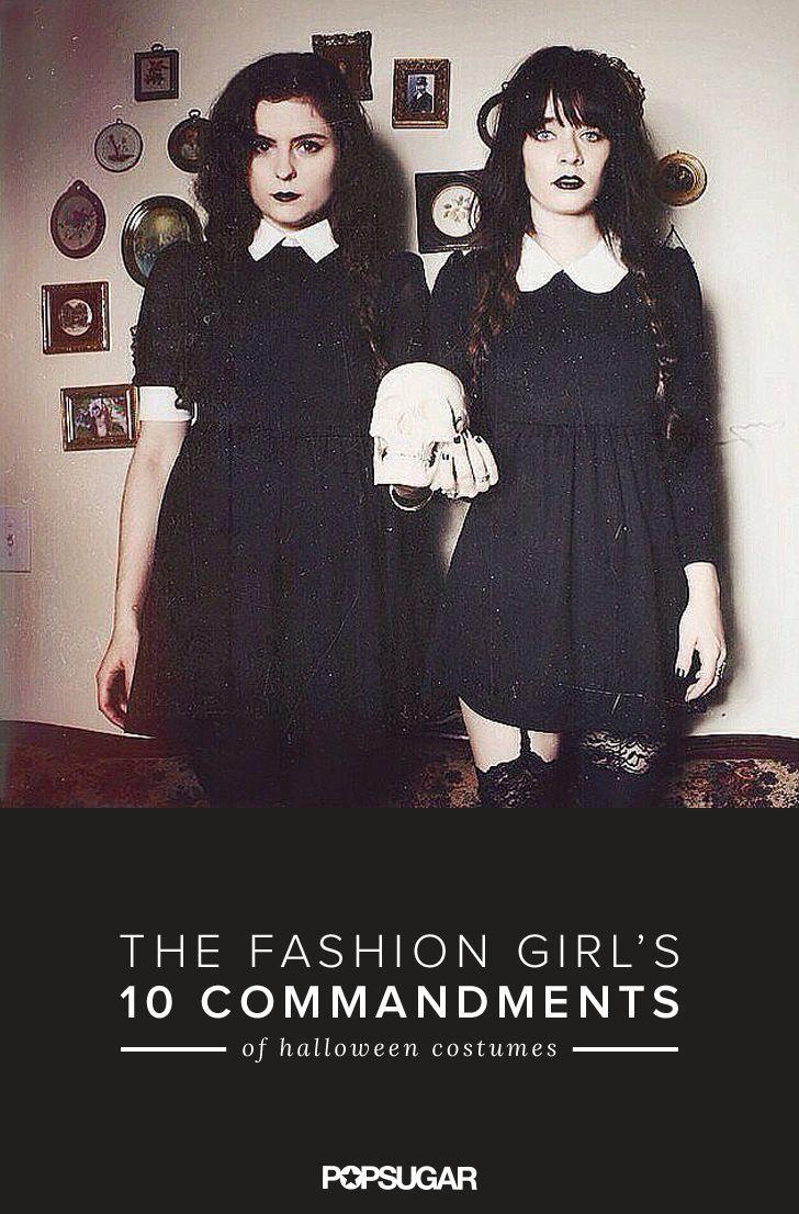 10 Halloween Costume Commandments Every Fashion Girl Should Follow