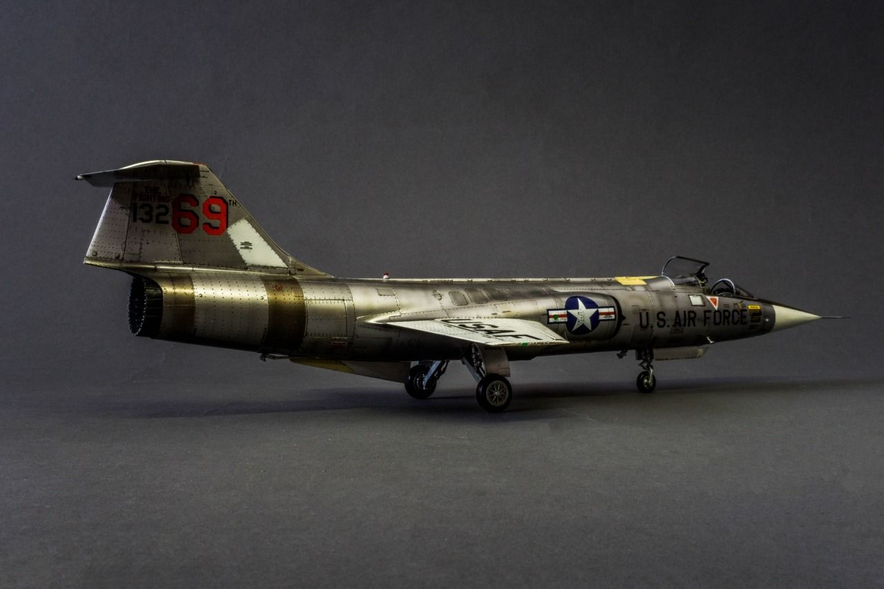 Lockheed F-104C Starfighter (Chuck Yeager) by Christian ...