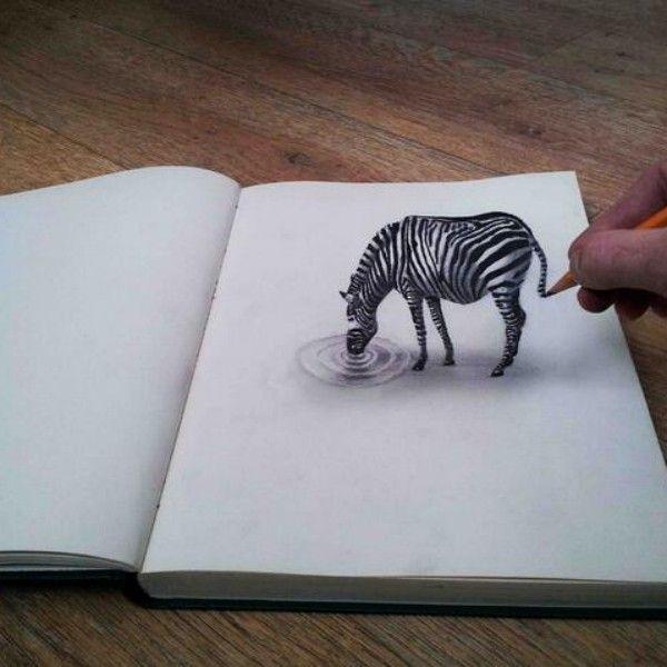3d Drawing Sketch Pencil Art 372 Zeichnung Optische Tauschung Zeichnung Ideen Bleistift 3d Zeichnungen