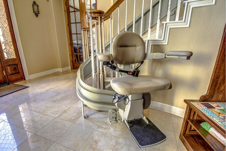 Cost Of A Custom Curved Stair Lift Stair Lift Bunk Beds With Stairs Home