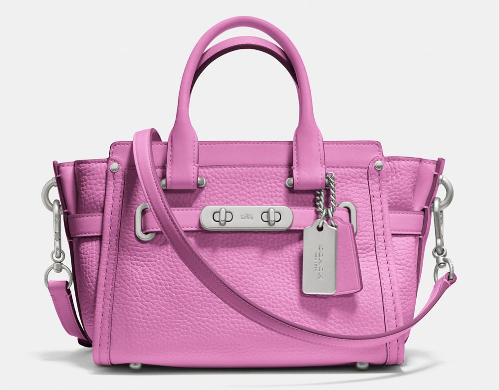 Coach Swagger 20 Bag Average Cost 350 00us Comes In 8 Pastel Colors