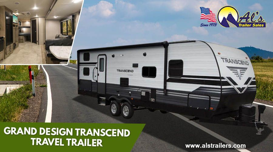 You Won T Be Stepping Down With This New Entry Level Trailer Instead You Will Transcend The Ordinary With Images Travel Trailer Grand Designs Trailers For Sale