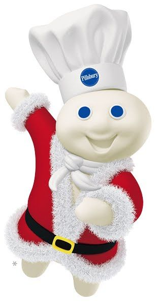 Santa S Helper Poppin Fresh Aka Pillsbury Doughboy Pillsbury
