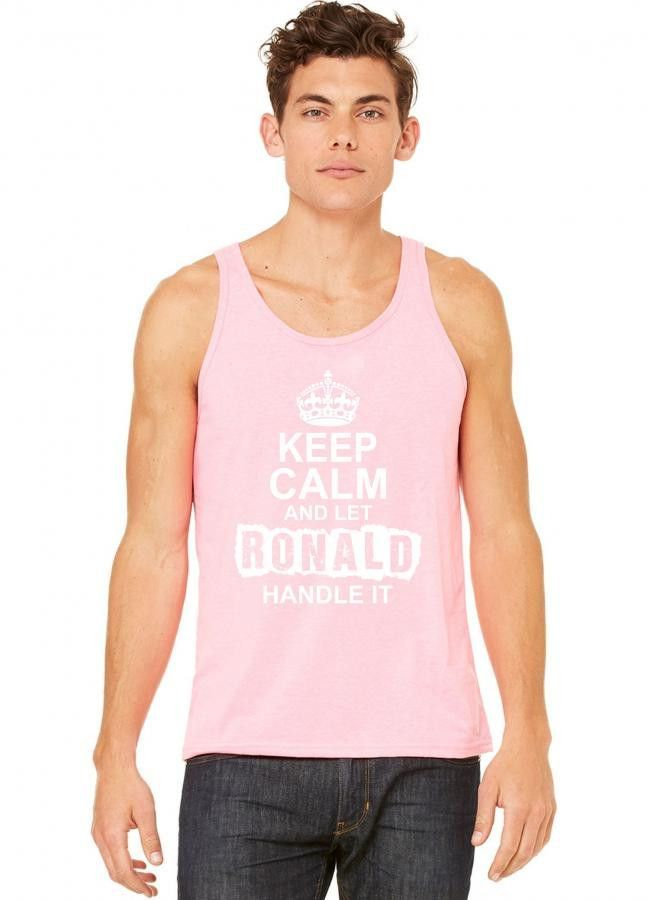 keep calm and let ronald handle it 1 tank top
