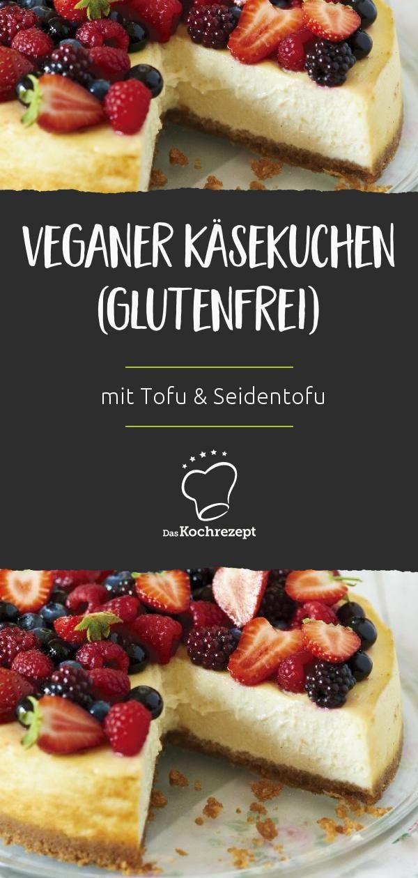 Photo of Veganer Käsekuchen (glutenfrei)