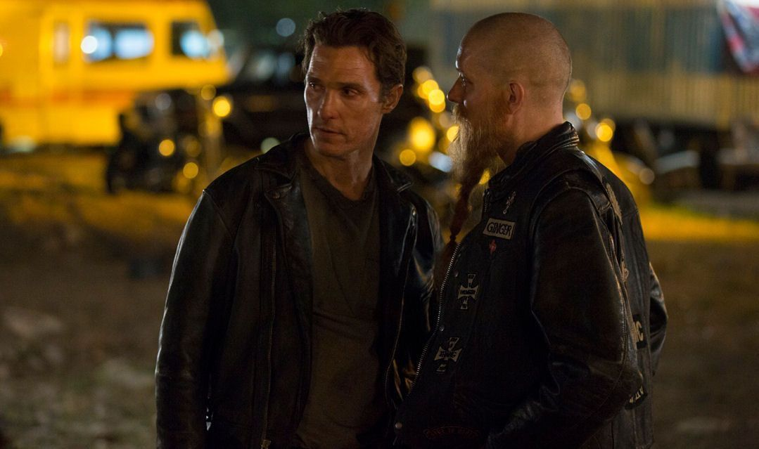 Rustin Cohle Undercover As Crash Hbo S True Detective Matthew Mcconaughey True Detective Matthew Mcconaughey Mathew Mcconaughy