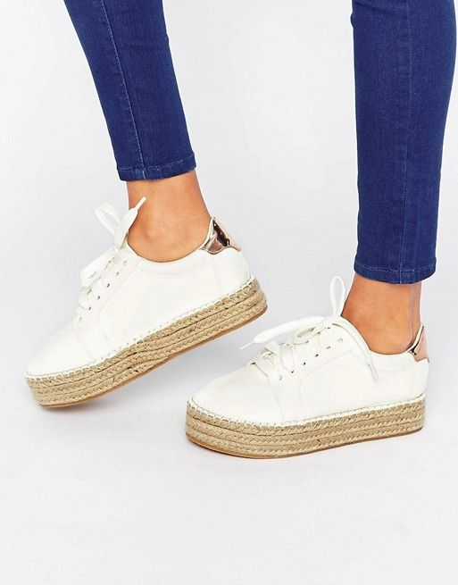 bdd9a4d6f Discover Fashion Online. Discover Fashion Online Espadrille Sneakers, Lace  Up ...
