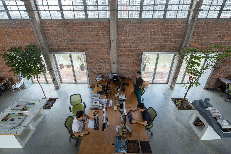 Galeria de Silo-top Studio, Escritório na cobertura de um antigo armazém / O-OFFICE Architects - 5