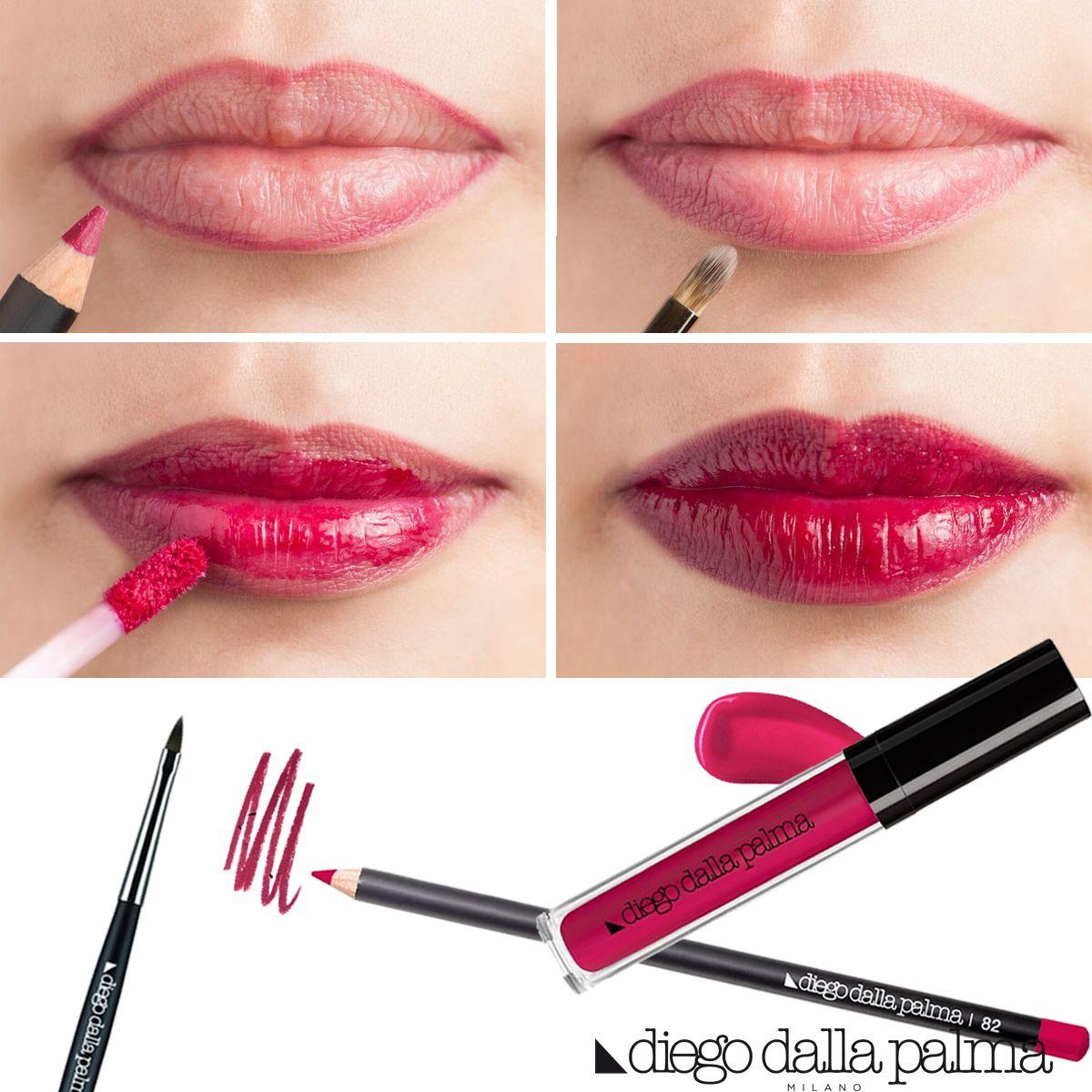 Tingilabbra lipstick tutorial by diego dalla palma milano - Diego dalla palma ...