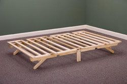 Stow-A-Way Bed with mattress $270