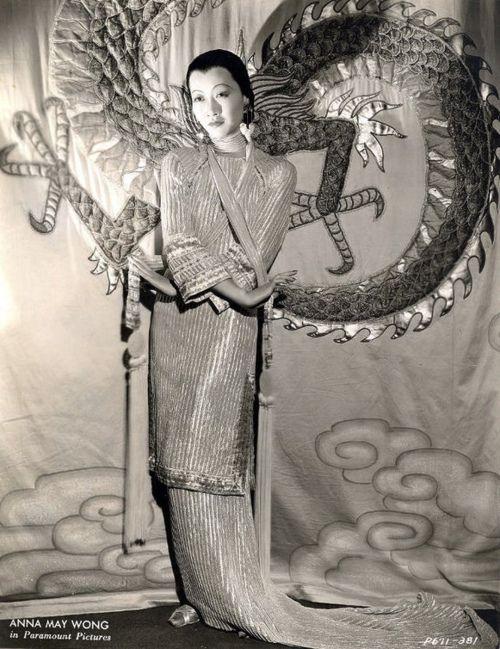 Anna May Wong Asian American Actresses Anna May Female Dragon