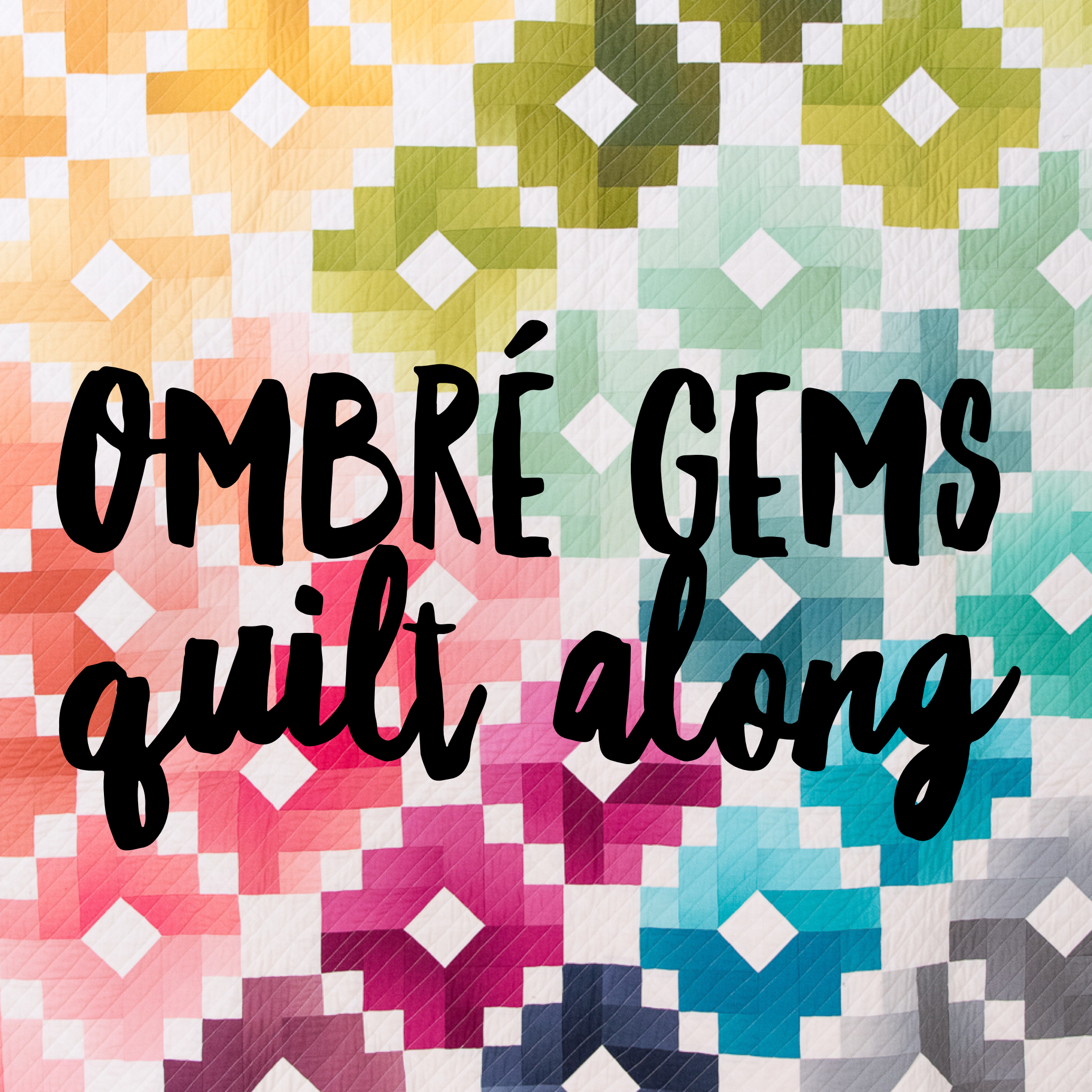 Ombre Gems Quilt Along - The official post | Ombre, Gems and Fabrics : ombre quilting fabric - Adamdwight.com