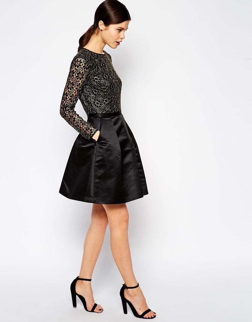 30 Beautiful Little (and Long) Black Bridesmaid Dresses | Black ...