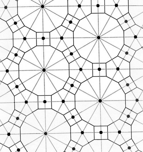 Tessellation-coloring-page | Places to Visit | Pinterest