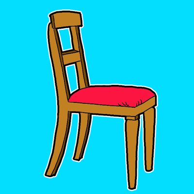 How To Draw A Chair In The Correct Perspective With Easy Steps Chair Drawing Chair Beach Chair With Canopy