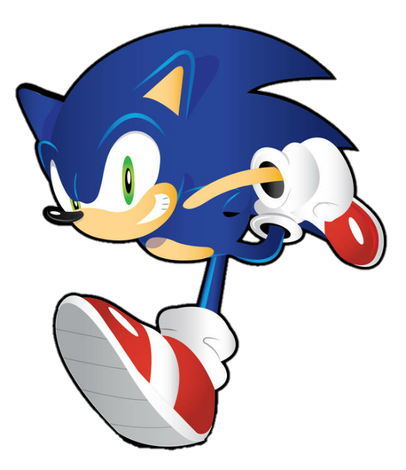 Sonic Running By Bluexbabex1o7 On Deviantart Sonic Sonic The Hedgehog How To Draw Sonic