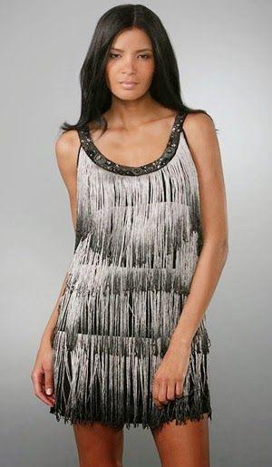 Patrón gratis: vestido de fiesta estilo charleston
