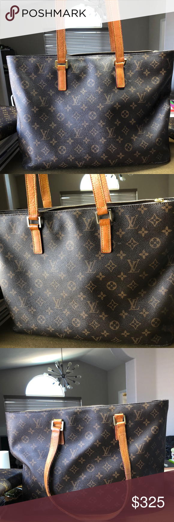 Louis Vuitton Luco tote. Reposh as I purchased two different LVs with the  intentions of cb068e087850e
