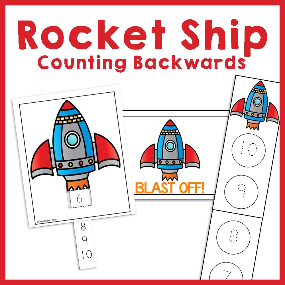 Rocket Ship Counting Backwards Royal Baloo Counting Backwards Rocket Math Rocket [ 1000 x 1000 Pixel ]
