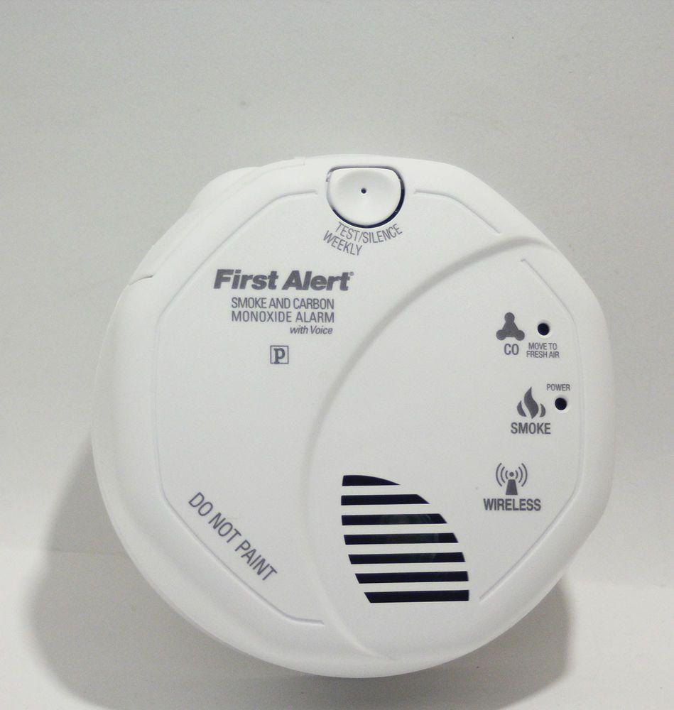 First Alert SC9120B Hardwired Combination Carbon Monoxide