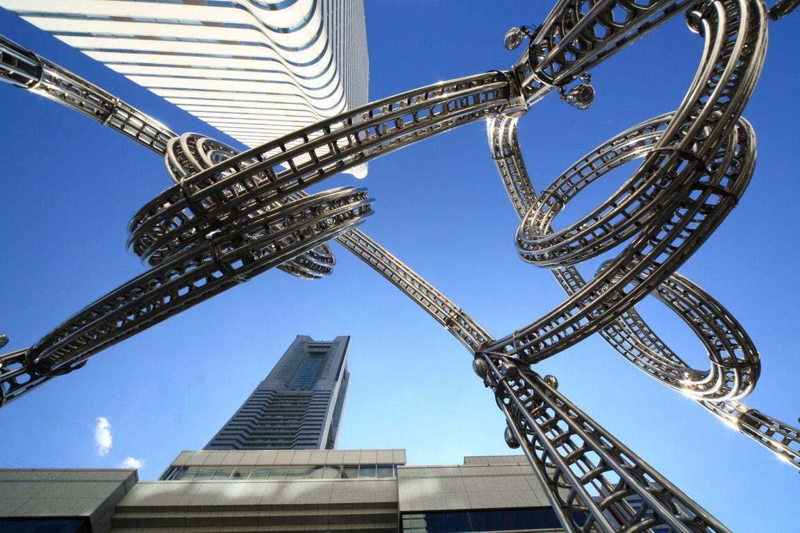 Minato Mirai 21, Yokohama.  Landmark Tower, Japan's tallest skyscraper: the three Queens Square Towers - Fotopedia
