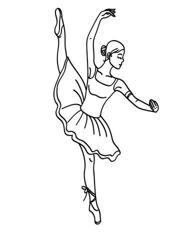 Moldes de Bailarina em tamanhos naturais prontos para serem baixados ...