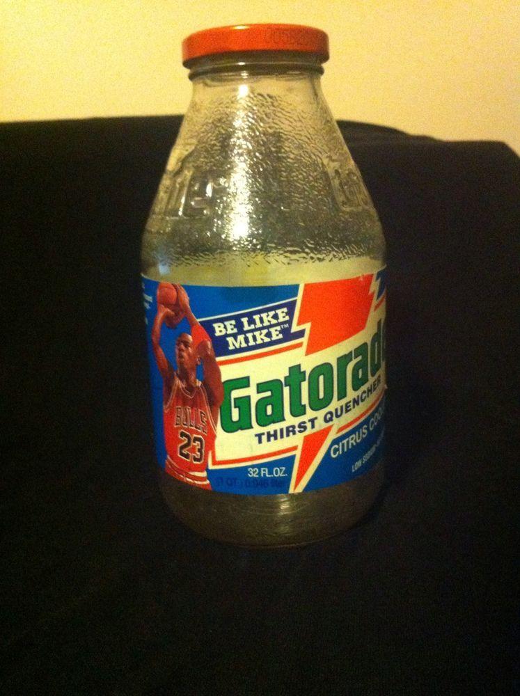 793ef50a9436 vintage - two michael jordan glass gatorade bottles from  28.88 ...