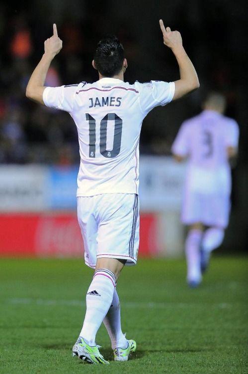 Otro día más en la oficina para James Rodríguez, en favor del Real Madrid: Liga BBVA.