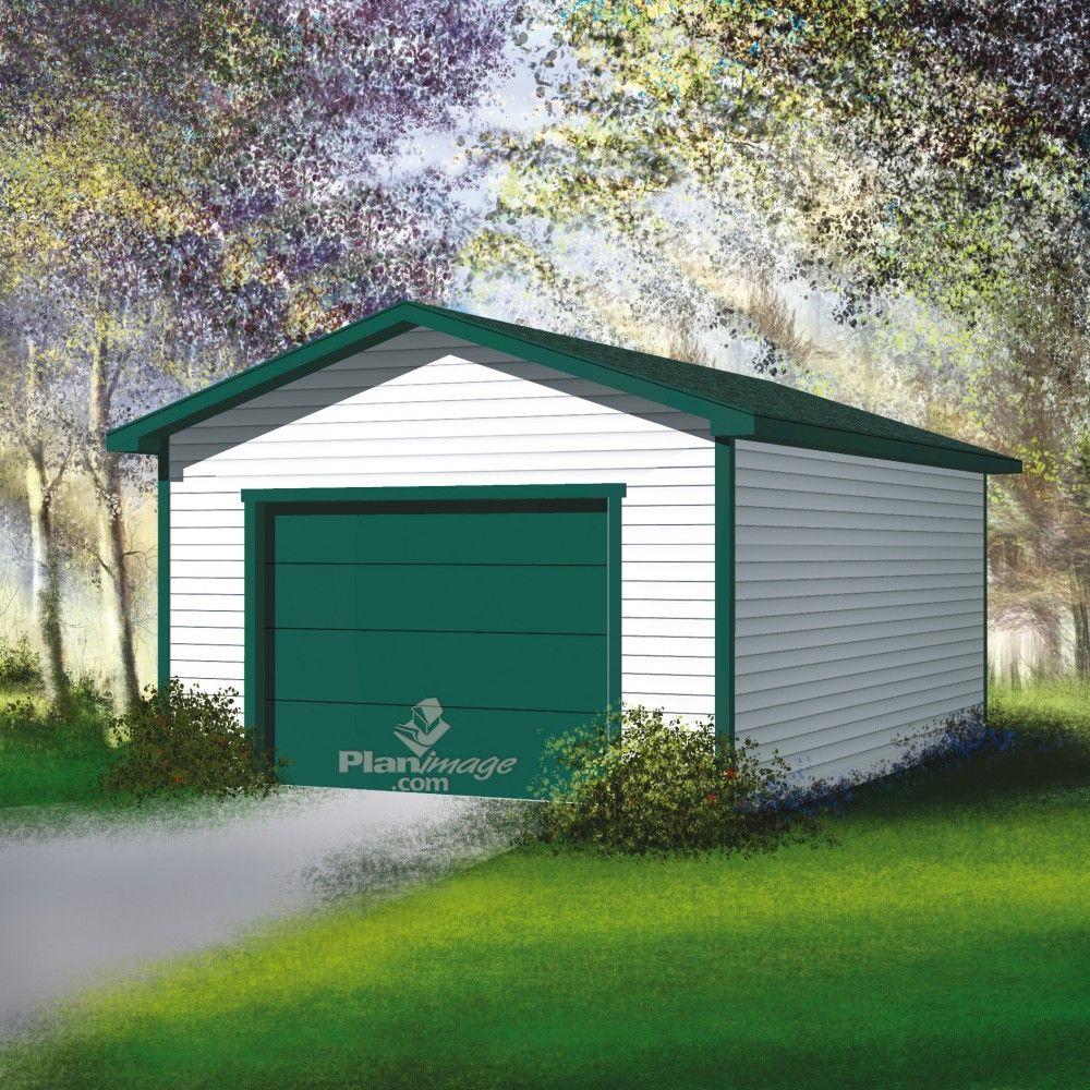 ce garage simple avec toit deux versants sera utile pour garer votre voiture et ranger vos. Black Bedroom Furniture Sets. Home Design Ideas
