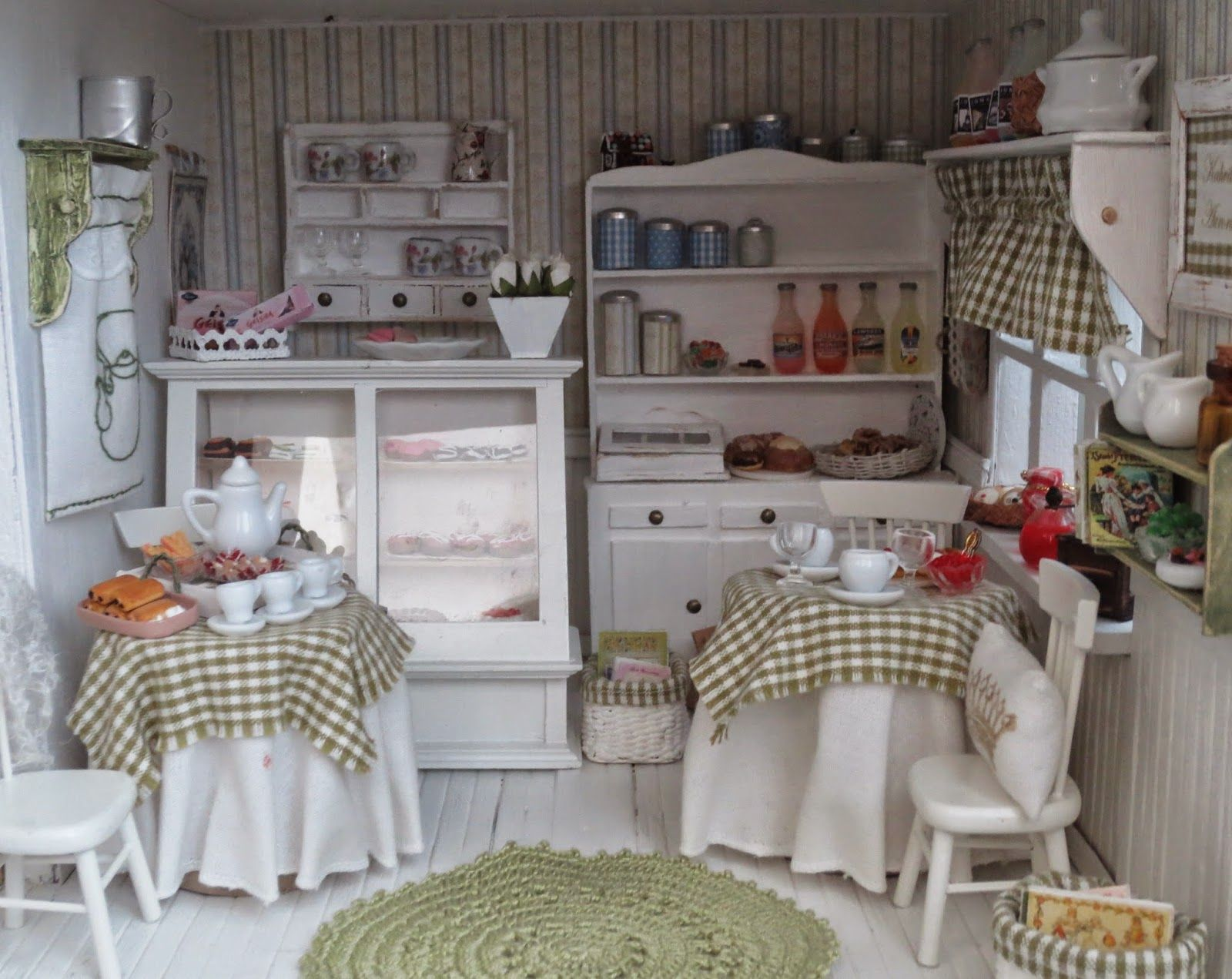Маревен кукольный дом: кафе Аврора