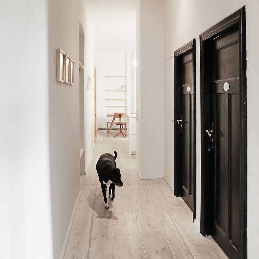 39 poor but sexy 39 interior design pinterest couloir blanc noir mat et couloir. Black Bedroom Furniture Sets. Home Design Ideas