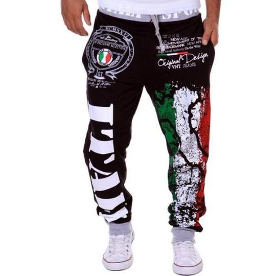 Vska Mens Running Running Pants Sports Leisure Cargo Pants