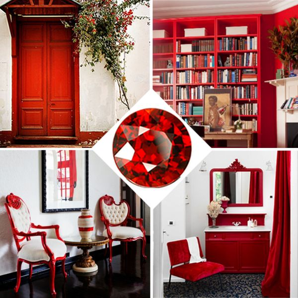 Red Home Decor Home Decor Accessories Villa Design Vacation