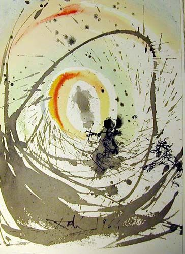 Mulier Amicta Sole 1967 By Salvador Dali Abstract Expressionism