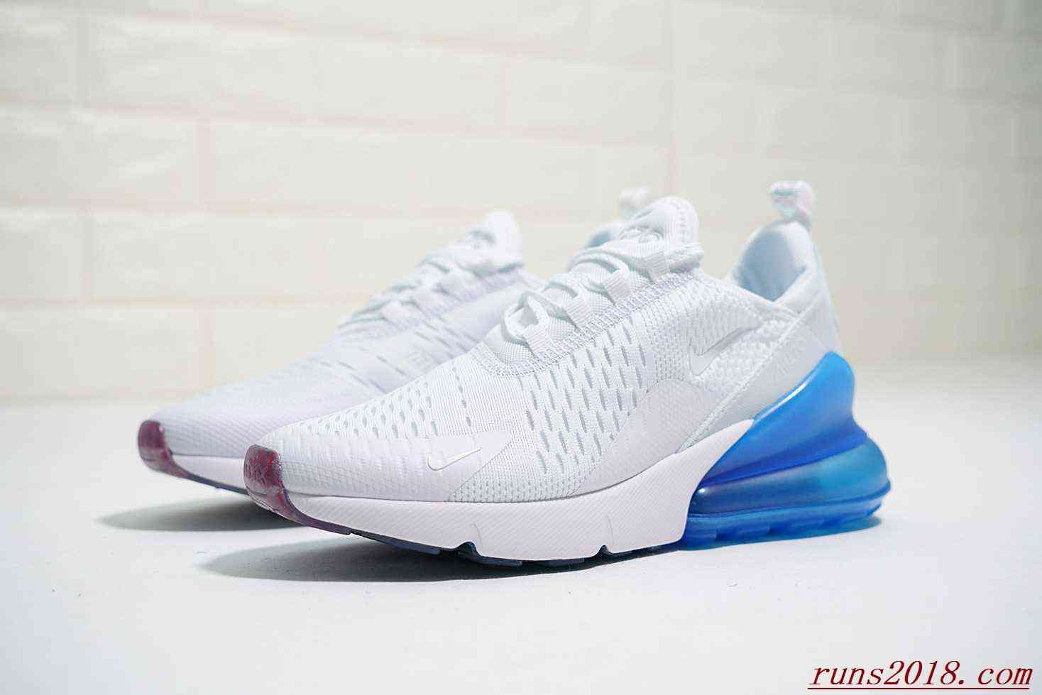 save off f9882 52270 Nike Air Max 270 Women White Aqua Blue