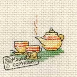Tea For Two Tiddlers by Mouseloft X Stitch Kit
