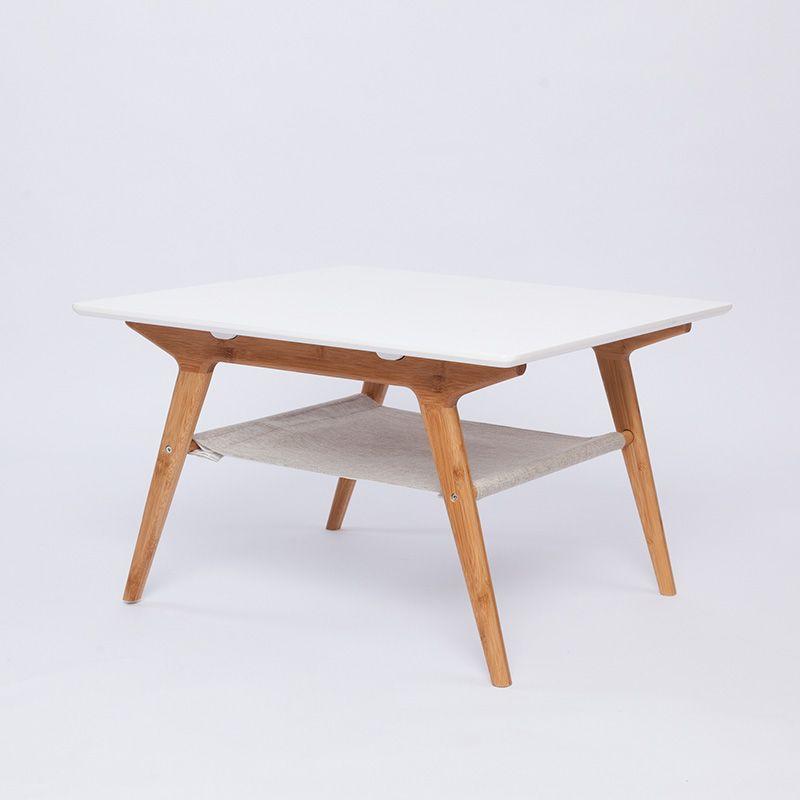 zen's bamboo coffee table bamboo tea table double layer