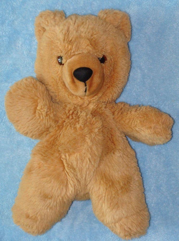 Vtg Playskool 1990 Tan Brown Plush Teddy Bear Stuffed Toy 12 Teddy Bear Plush Teddy Teddy Bear