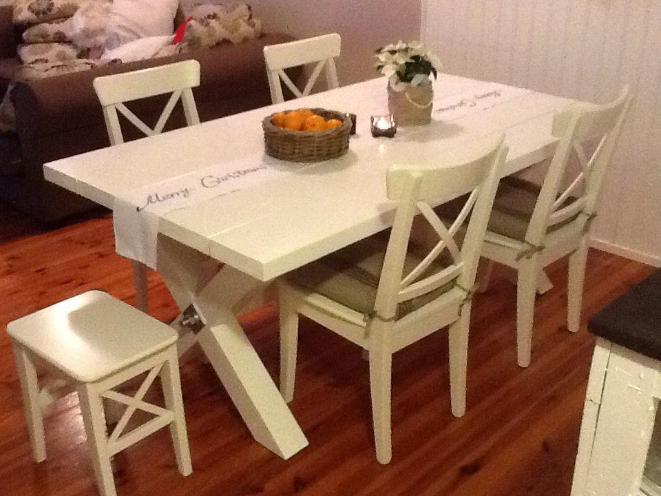 Uusi ruokapöytä!