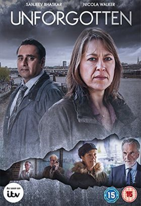 Unforgotten (2015-2017) / S: 1-2 / Ep. 12 / Crime/Drama [UK] / Stars: Nicola Walker, Sanjeev Bhaskar, Trevor Eve / Police start to investigate when the bones of a young man are found under the footings of a demolished house 39 years after his murder.