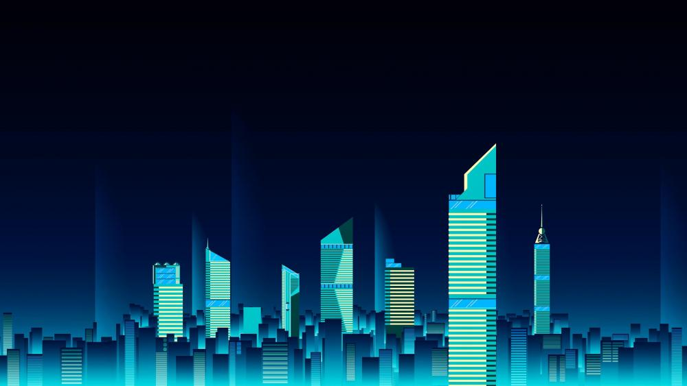 Digital City 4k Ultrahd Wallpaper Backiee Free Ultra Hd Wallpaper Platform Wallpaper Digital Wallpaper Wallpaper Backgrounds