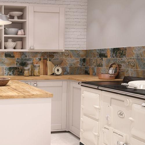 Kitchen Tiles Johnson weathered rust tile | ceramic wall tile | johnson tiles buy now at