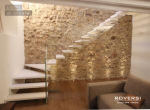 Scala soggiorno ~ Scala a sbalzo su muro in pietra scale a sbalzo cantilever