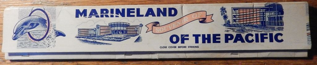 Marineland of the Pacific  souvenir matches