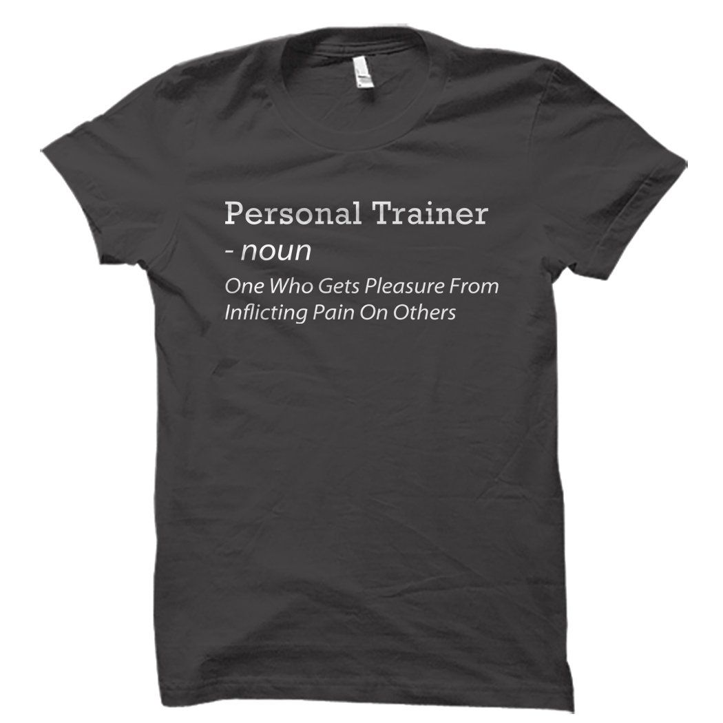 Personal Trainer Shirt Shirts, Personal trainer