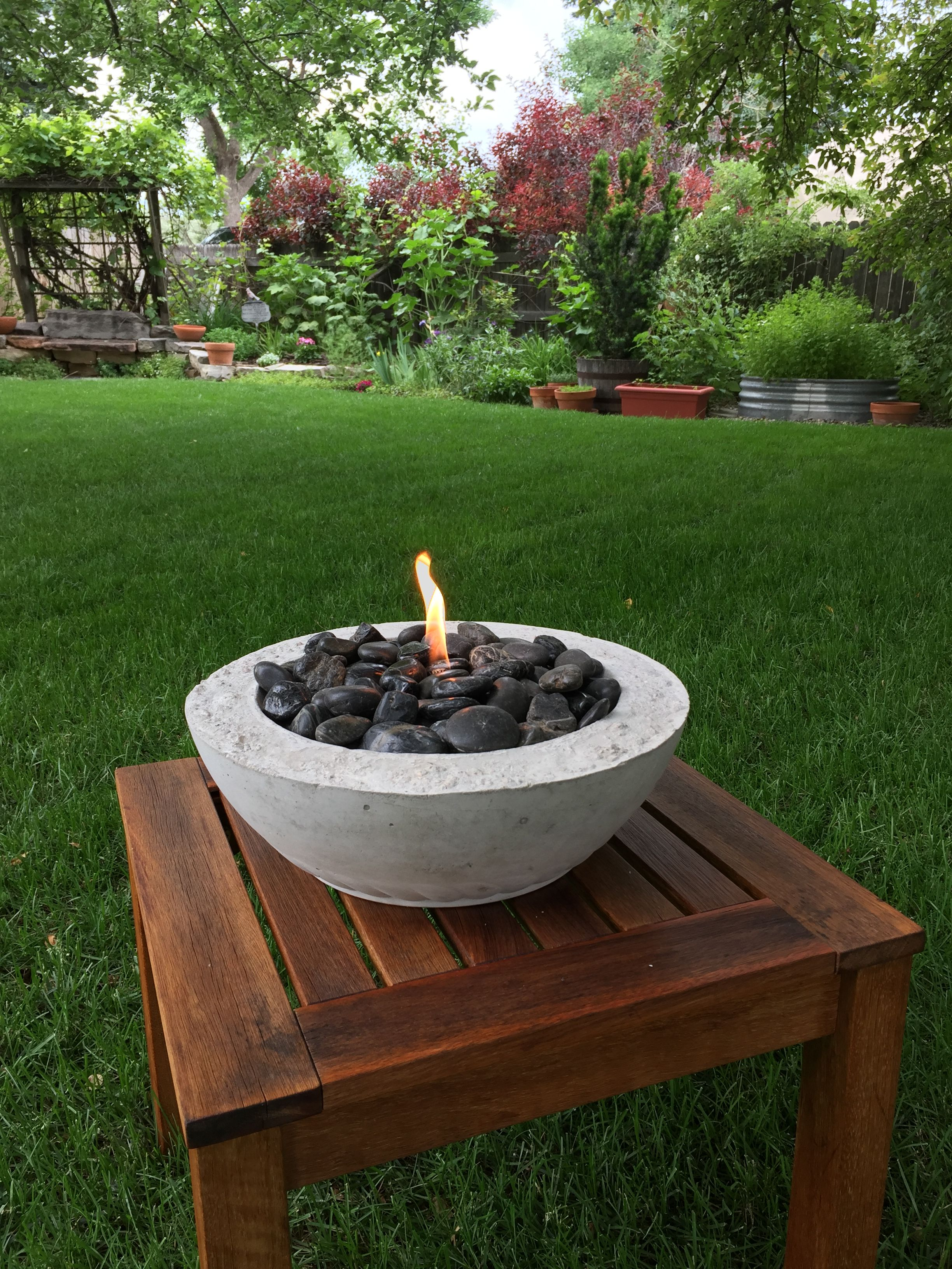 Diy tabletop fire bowl tabletop fire bowl fire bowls