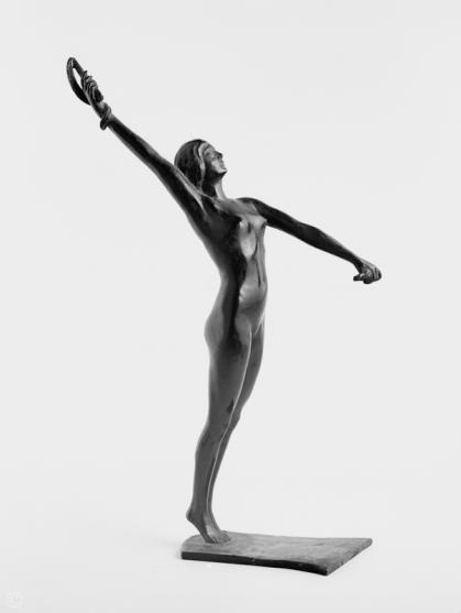 Edouard Marcel Sandoz - Danseuse aux fouets