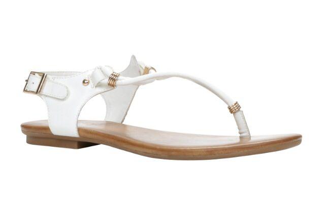 White sandal!!