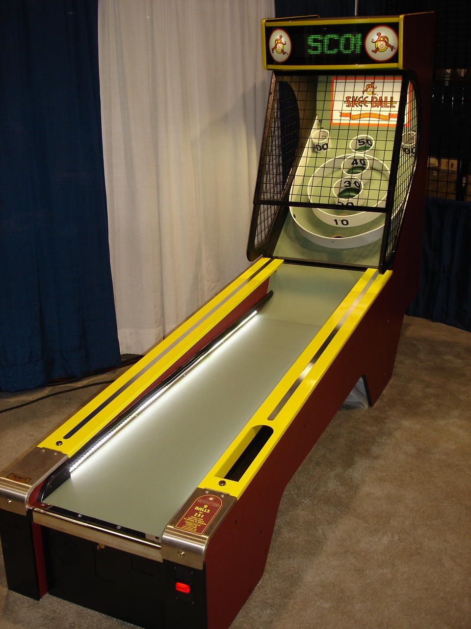 Skeeball in the entertainment/game room. Yeah. That'll