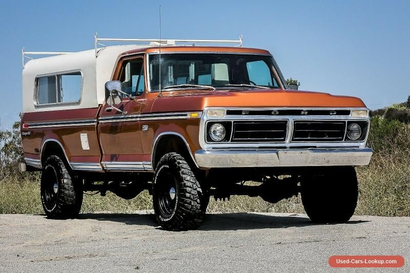 1976 Ford F 250 Xlt Ford F250 Forsale Usa Cars For Sale Ford Excursion Ford Trucks